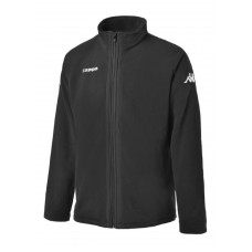 3016MB0_005Y Kappa Agrigente Polar Kids Jacket Black